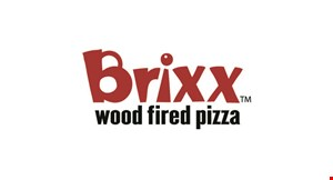 Product image for Brixx Wood Fired Pizza Buy 1 Pizza, get 1 on the house view the menu and order oinline at brixxpizza.com