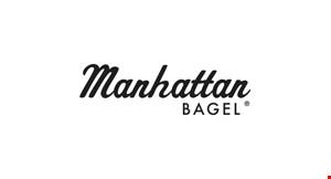 Manhattan Bagel - Wharton logo