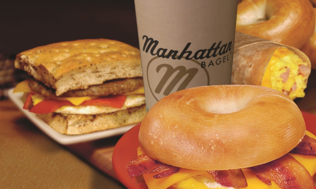 Product image for Manhattan Bagel 20% Off any Purchase.