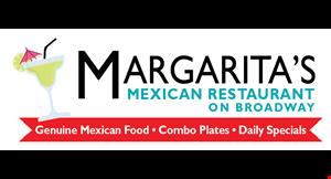 Margarita's Mexican Restaurant on Broadway logo