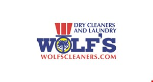 Product image for Wolf's Dry Cleaners & Laundry 10% OFF all repairs & alterations.