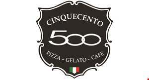 Cinquecento 500 Pizza, Gelato & Cafe logo