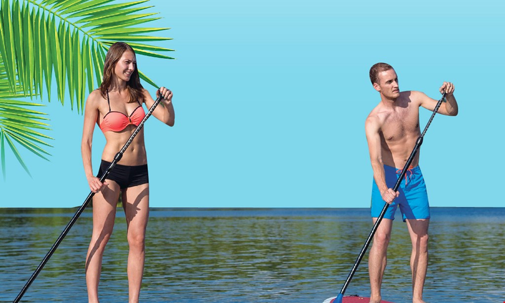 Product image for Las Olas Paddle Boards Only $15 upgrade any 1-hour rental to a 3-hour rental