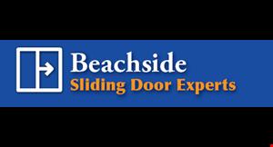BEACHSIDE SLIDING DOOR EXPERTS logo