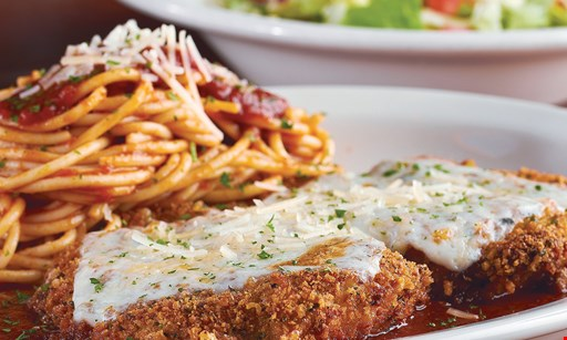 Product image for Johnny Carino's FREE ENTREE With the purchase of Any Entree of equal or Greater Value.