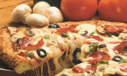 Product image for Di Maria's Pizza & Italian Kitchen $19.99 + tax 2 pizza special take-out only · toppings extra.