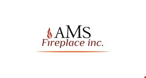 Product image for AMS Fireplace Inc. $200 OFF Any Installed Log Set With A Purchase Of An Installed Fireplace Door