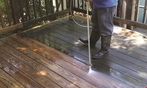 Product image for BER SERVICES INC. POWER WASHING Only $220 whole house power washing.