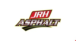Product image for JRH Asphalt 10% OFF any paving installation.