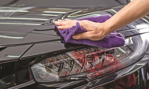Product image for Soft Touch Car Wash $6 OFF full service car wash with disinfectant service.