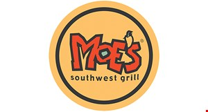 Product image for Moe's Southwest Grill - East Meadow BUY ONE BURRITO, GET ONE FREE