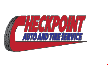 Check Point Auto and Tire Service logo