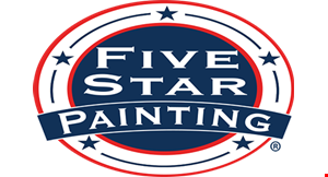 Product image for Five Star Painting $300 OFF any project over $3,000