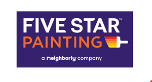 Product image for Five Star Painting $300 OFF any project over $3,000.
