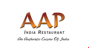 AAP India Restaurant logo