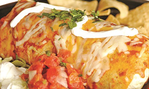 Product image for Acapulco Mexican Restaurant BOGO 1/2 off. Buy One Dinner Entree at Regular Price, Get Second Dinner Entree at 1/2 off with the purchase of 2 beverages.
