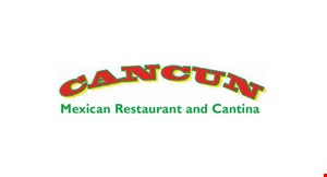 Product image for CANCUN MEXICAN RESTAURANT AND CANTINA $22.99 2 FAJITA DINNERS BEEF OR CHICKEN. VALID SUN-THURS ONLY.