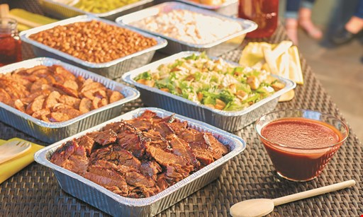 Product image for Dickey's Barbecue Pit Free meat plate with the purchase of a meat plate of equal or greater value.