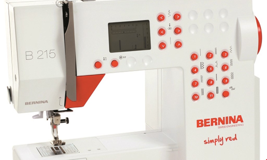 Product image for Kramer's Sew & Vac Center $100 OFF! Any New Sewing Machine Purchase of $500 or more.
