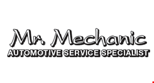 Product image for Mr. Mechanic $300 +tax front or rear disc brake