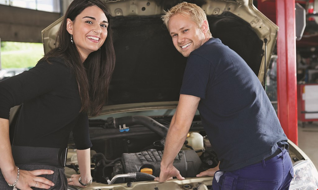 Product image for Mr. Mechanic FREE car rental one day rental with $100 min. repairs · based on availability · driver must meet requirements reg $25 + tax.
