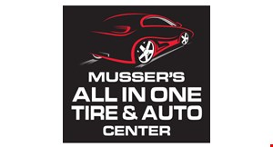 Musser's All in One Tire & Auto Center logo