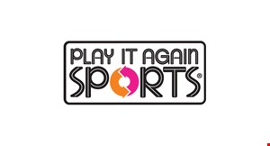 Product image for Play It Again Sports $10 Off any purchase of $30 or more