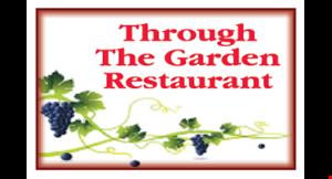 Through The Garden Restaurant logo