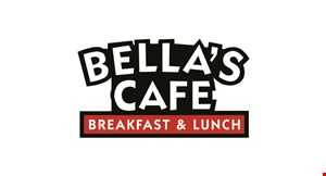 Product image for Bella's Cafe $15 For $30 Worth Of Casual Dining