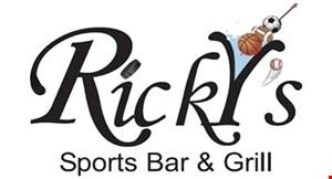 Ricky's Apollo Beach logo