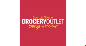 Product image for Grocery Outlet San Luis Obispo $3 OFF $30 minimum purchase (excludes alcohol, dairy, gift card purchases and tax and state bottle deposits).