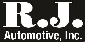 R.J. Automotive, Inc. logo