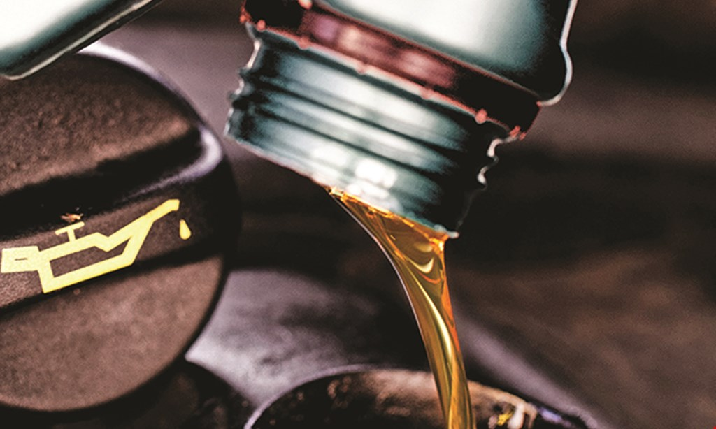 Product image for R.J. Automotive, Inc. $39.95 synthetic oil change includes lube, oil & filter, up to 5 qts. of regular house brand synthetic oil diesels & cartridge filters extra, plus $5.50 disposal/shop supply fee