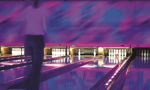 Product image for Cordova Bowling Center $15 unlimited glow in the dark bowling