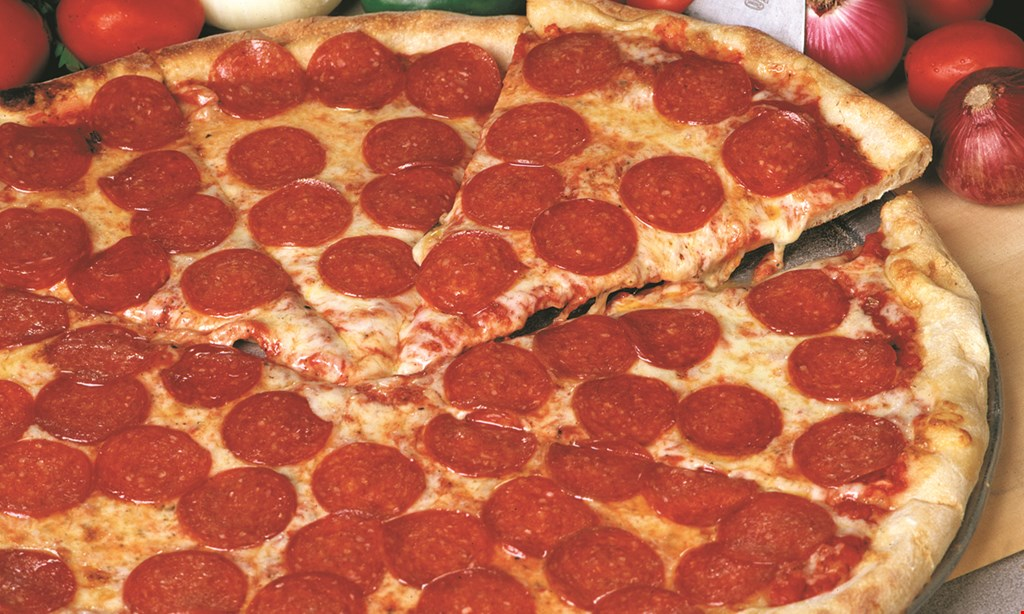 Product image for Cappolla'S Pizzeria & Grill 1 Medium 1 Topping $8.49 + Tax.1 Large 1 Topping $9.99 + Tax.1 X-Large 1 Topping $12.49 + Tax.