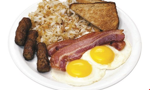 Product image for Eggs Up Grill $5 OFF $25 food purchase.