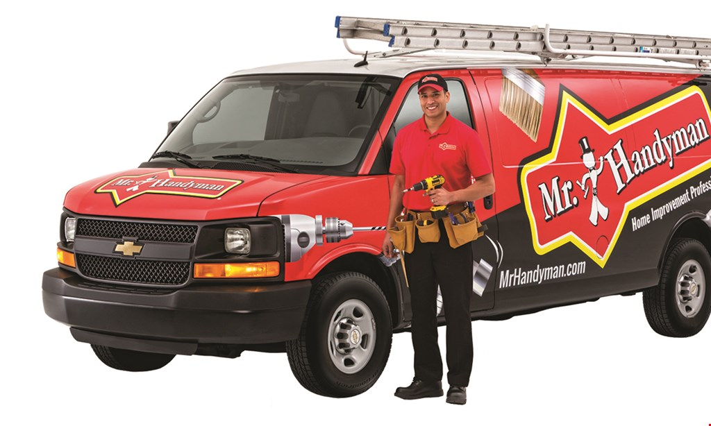 Product image for Mr. Handyman $25 OFF for $25 worth of services