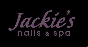 Jackie's Nails & Spa logo