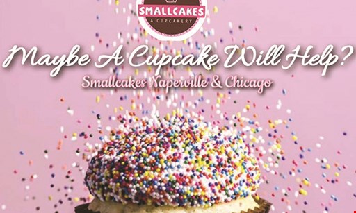 Product image for Smallcakes & Decadent A Coffee & Dessert Bar Free cupcake