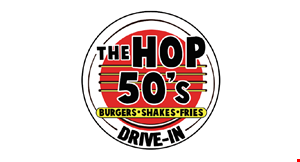 The Hop 50'S Drive-In logo