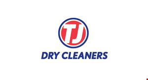 Tj Dry Cleaners logo