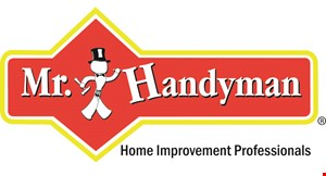 Product image for MR. HANDYMAN $42 off Services provided by Mr. Handyman. Minimum of 4 hours..