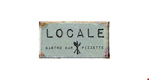 Product image for Locale Gastro Bar Pizzette $15 For $30 Worth Of Casual Dining