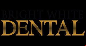 BRIGHT WHITE DENTAL logo