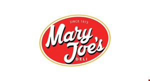 Mary Joe's Deli logo