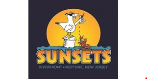 SUNSETS RIVERFRONT RESTAURANT logo
