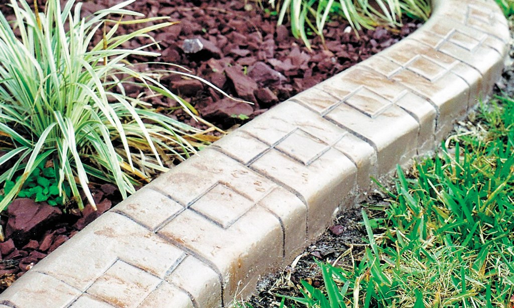 Product image for Rock Solid Curbs $200 off 150 ft. or more of curbing.