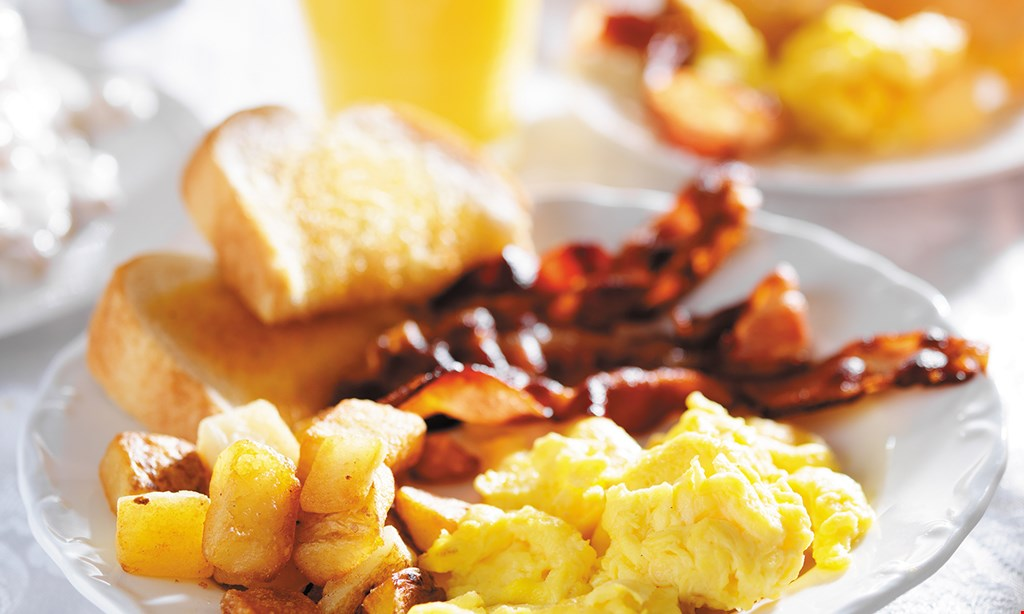 Product image for FORESTVIEW $6.49 2-2-2 Special 2 eggs 2 pancakes 2 bacon, ham or sausage.