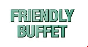 Product image for Friendly Chinese Buffet 10% OFF any purchase.