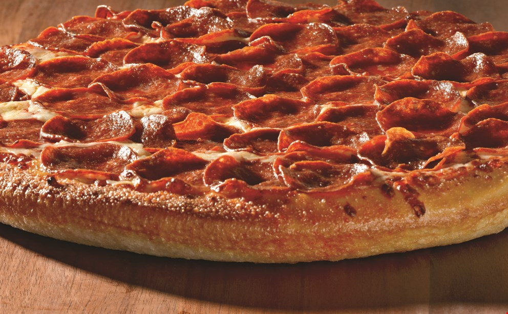 Product image for Papa John's $12 XL 1-topping pizza.